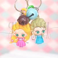 Gantungan Kunci Princess Lucu Elsa Gantungan Tas Keychain GH 302267