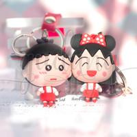 Gantungan Kunci Chibi Maruko Chan Gantungan Tas Keychain GH 302225