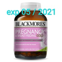 Blackmores Pregnancy & Breastfeeding Gold isi 60 kapsul BPOM