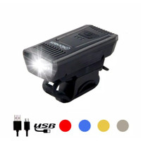 Lampu Sepeda LED USB Rechargeable Multifungsi Waterproof