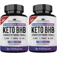 (2 PACK) MIX RX KETO DIET BOOST 60 PILLS WITH EXOGENOUS KETONES