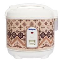 Mini Rice Cooker Magic Com Miyako 0,6 Liter Motif Batik PSG 607