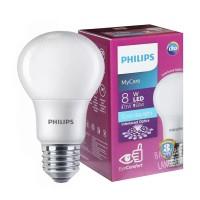 LAMPU PHILIPS LED BULB 8 WATT LAMPU HEMAT ENERGI 8 WATT