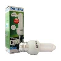 LAMPU PHILIPS ESSENTIAL 8 WATT LAMPU HEMAT ENERGI