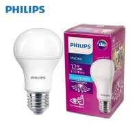 LAMPU PHILIPS LED BULB 12 WATT LAMPU HEMAT ENERGI 12 WATT