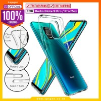 Case Redmi Note 9 / Pro / Max Spigen Liquid Crystal Softcase Casing