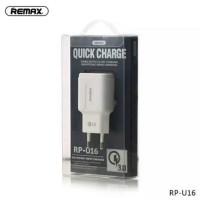 Remax Charger RPU16 Quick Charge 3.0 QC 3.0 Qualcomm 1 Port Original