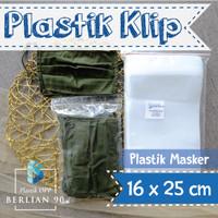 PLASTIK KLIP 16x25CM ISI 100PCS PLASTIK ZIPLOCK BENING SERBAGUNA