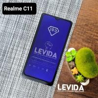TEMPERED GLASS REALME C11 ANTI BLUE ANTI RADIASI TG FULL LEM