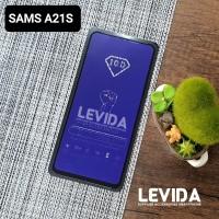 TEMPERED GLASS SAMSUNG A21S ANTI BLUE ANTI RADIASI TG FULL LEM A21S
