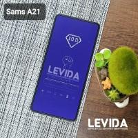 TEMPERED GLASS SAMSUNG A21 ANTI BLUE ANTI RADIASI TG FULL LEM A21