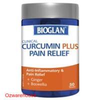Bioglan Clinical Curcumin Plus Pain Relief 50 Tablets
