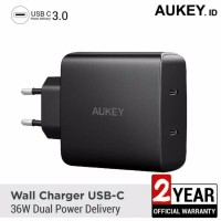 Aukey PA-Y16 Amp 36W Power Delivery Wall Charger