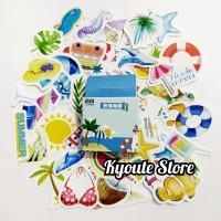 Sticker Happy Summer Scrapbook DIY Bujo Planner Diary Journal HP Case