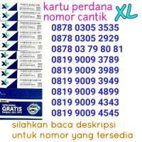 XL.9 kartu perdana XL nomor cantik xl seri 900 abab aabb abba