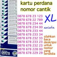 XL.6 nomor cantik xl seri urut abab abba aabb kartu perdana xl axiata