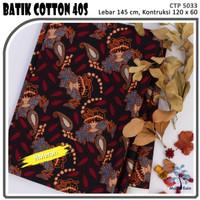 MUKA IG bahan kain cotton katun batik kemeja murah per 50 yard cat 17