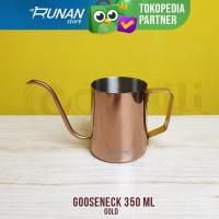 Gooseneck 350 ml Teko Leher Angsa 350ml Gold Conalli Kettle Gooseneck
