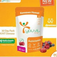 youvit multivitamin you vit dewasa isi 30
