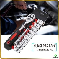 Kunci Pas 12 in 1 Stainless steel