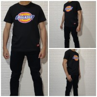 Kaos Dickies (Dickies Tee Shirt) Black