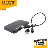 M-Tech Original Casing Hardisk External 2,5 Sata Color HDD Case ATA