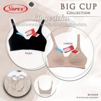 Bra Ukuran Cup Besar Tanpa Kawat Busa Tipis Sorex 02008