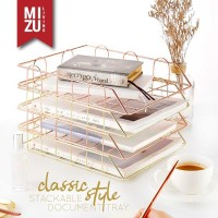 CLASSIC STYLE Stackable Document Tray A4 Letter Paper Rak Susun Kertas