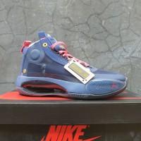 Sepatu Basket x Nike Air Jordan 34 Navy Pink Premium Quality
