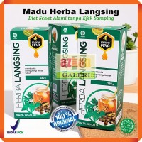 Penghilang Lemak Perut Madu Herba Langsing Diet Pelangsing Herbal