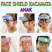 Pelindung Wajah Face Shield Kacamata Lucu APD Anak FCS004TNK