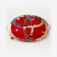 Emblem Toyota Lebar 12 cm Tinggi 8,5 cm