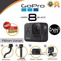 GoPro Hero 8 Black original garansi resmi dan banyak bonus