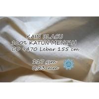 KAIN BLACU / BLACO TEBAL 100% KATUN MENTAH CD 9470 (Per 0,5 Meter)