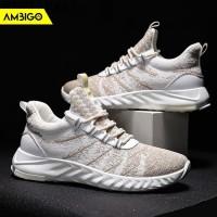 Sepatu Sneakers Olahraga Pria Ambigo Zapatillas Running Shoes