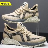 Sepatu Sneakers Olahraga Pria Ambigo ARTOS JKT26 Running Shoes