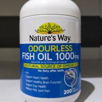 Nature way fish oil odourless 1000mg..Nature's way