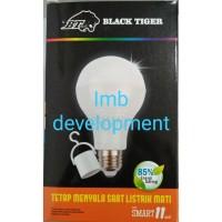 Black Tiger Led warm White Lampu Bohlam Emergency [11 Watt]