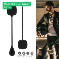 Helm Motor MH 05 Headset Bluetooth Ver 5.0 Wireless Headphone Helmet