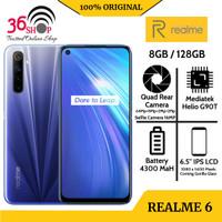 Realme 6 Ram 8GB/128GB [ Garansi Resmi 100%] Garansi Resmi 1 Tahun - Comet Blue