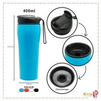 Botol Minum Anti Tumpah Mighty Mug 400ML Botol Minum H331