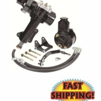 CPP 5557PSK-F - 1955-57 Chevy Power Steering Upgrade Kit - 500 Se