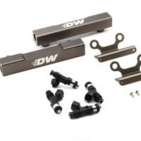 DeatschWerks Top Feed Fuel Rail Upgrade Kit w/ Injectors for 02+
