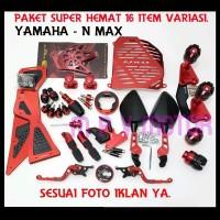 Paket Termurah Yamaha Nmax 16 Item Accesories Motor parts