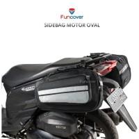 MDS Sidebag motor Side Bag Oval Tas Samping Motor Waterproof Funcover