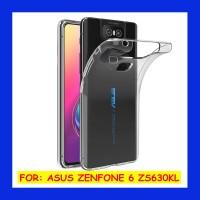 Asus Zenfone 6 ZS630KL - Clear Soft Case Transparan Casing Cover