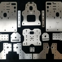 """Deluxe 2"""" Taller OX CNC with 8mm Lead screw Upgrade kit (seen at"""