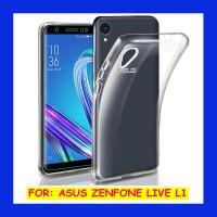 Asus Zenfone Live L1 ZA550KL - Clear Soft Case Transparan Casing