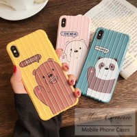 Casing Soft Case Motif We Bare Bears untuk vivo Y11 y91c y17 y12 y15