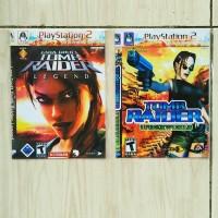 KASET PS2 CD PLAYSTATION 2 GAMES LARA CROFT TOMB RAIDER SERIES